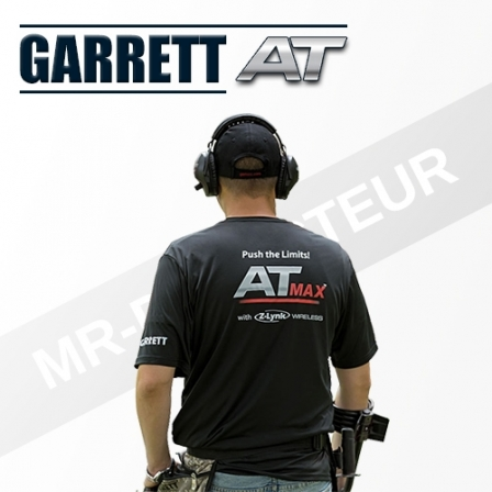 T-Shirt Garrett Noire AT-Max