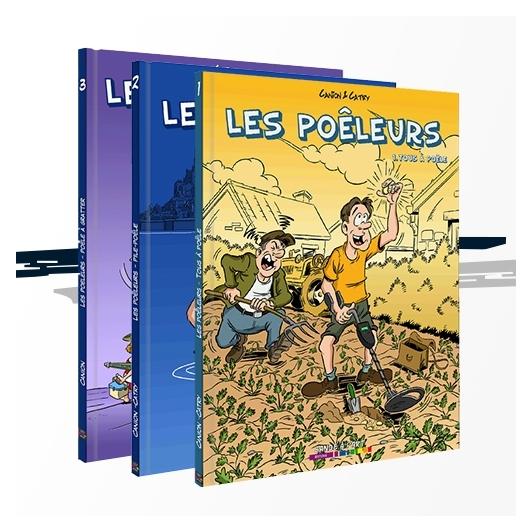 Pack Les Poêleurs - Tome 1,2 et 3