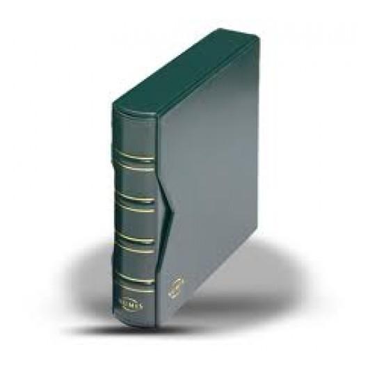 Album vert Numis classic avec étui de protection