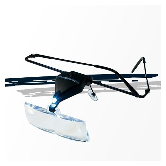 Loupe lunettes VISIR, 3 loupes