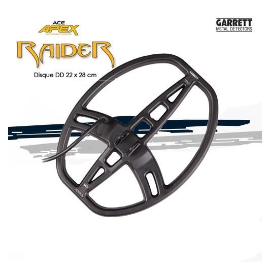 Disque Multi-Flex Raider 22x28cm Garrett APEX