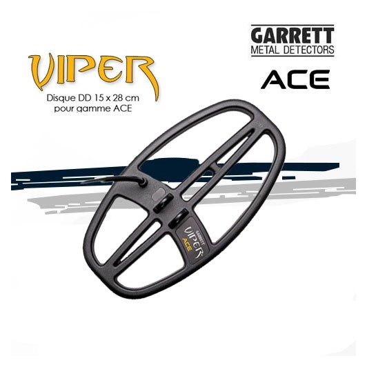 Disque Viper 15x28cm pour GARRETT ACE