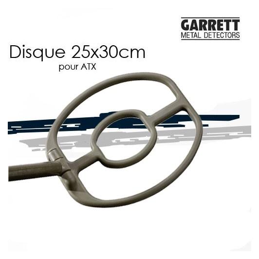 Disque 25x30cm pour GARRETT ATX