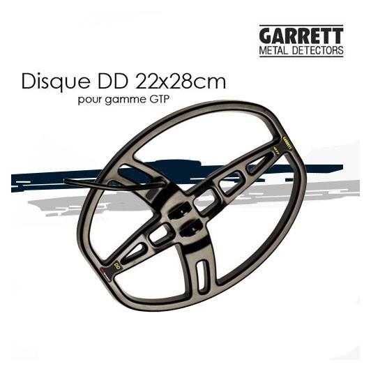 Disque DD 22x28cm pour GARRETT GTP