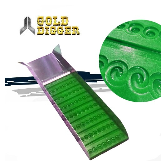 Mini rampe DEVIN GOLD : 15x60 cm petite flare