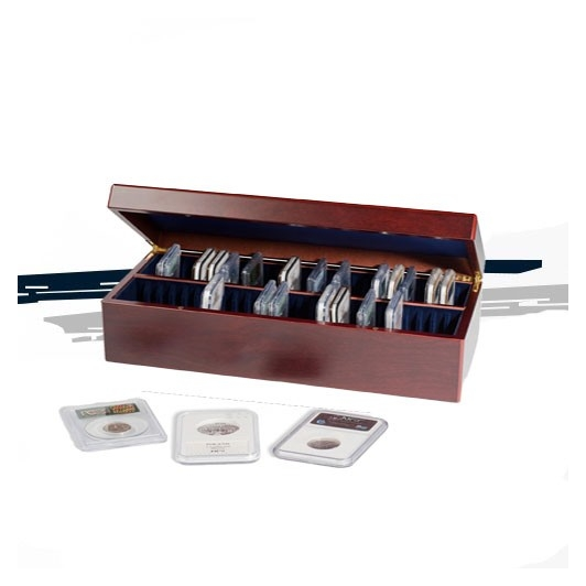 Coffret bois pour 50 capsules EVERSLAB Certifiées ( SLABS )