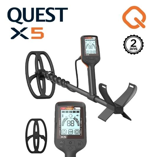 Detecteur de metaux Quest X5
