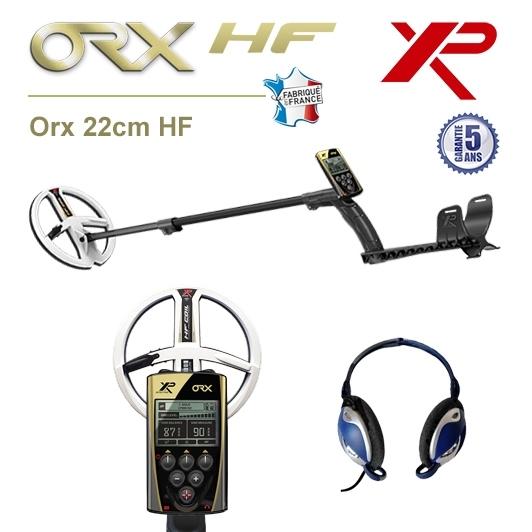 Détecteur de métaux XP Orx avec disque 22,5cm HF