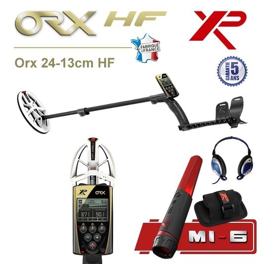 Detecteur de metaux XP Orx avec disque elliptique HF et Pro-Pointer XP MI-6