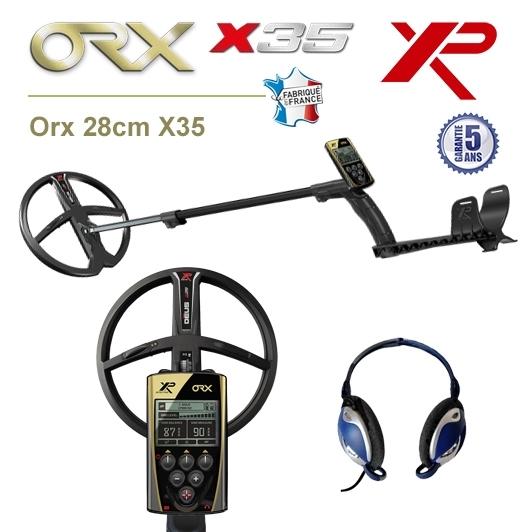 Detecteur de metaux XP Orx avec puissant disque 28cm X35