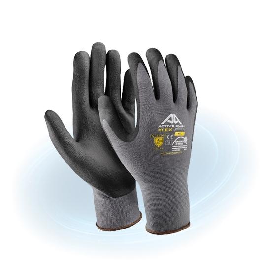 Gants de protection Active Gear pour pêche à l'aimant