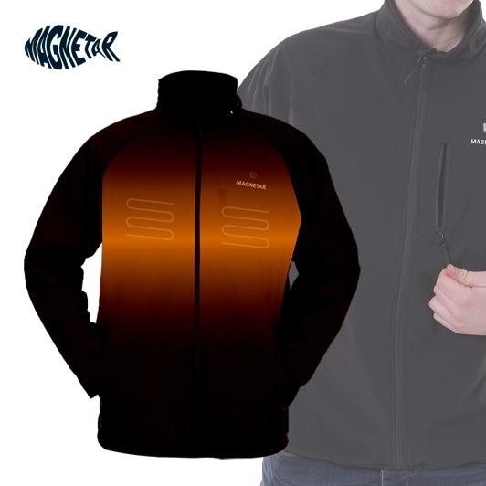 Veste chauffante imperméable à capuche Magnetar