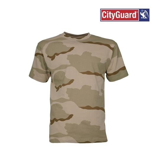 T-Shirt Camouflage désert militaire CE Cityguard