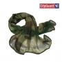 Écharpe chèche militaire, filet camouflage