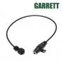 Adaptateur casque Garrett pour détecteur de métaux AT-Pro, AT-Gold, AT-Max, et Sea Hunter Mark 2.