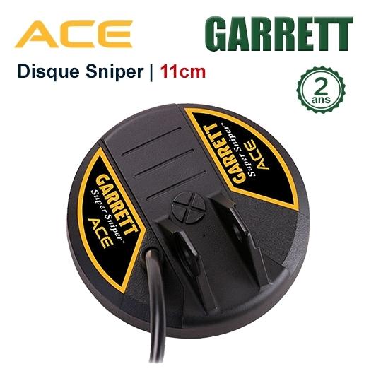 Disque Sniper 11cm pour GARRETT ACE