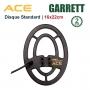 Disque 16x22cm pour Garrett ACE