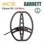 Disque DD 22x28cm pour GARRETT ACE