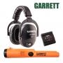 Garrett Z-Lynk Pro-pointer AT et Casque sans fil MS-3 pour détecteur de métaux