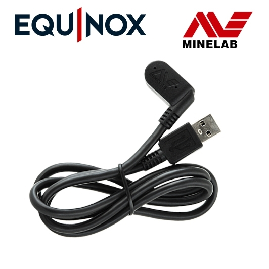 Câble de charge USB pour détecteur de métaux Equinox Minelab