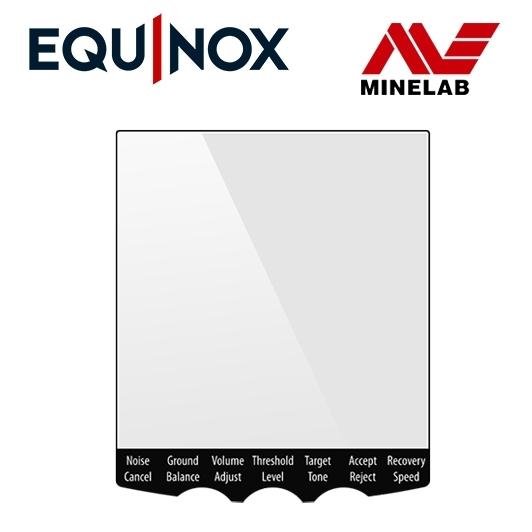 Protection pour l'écran du détecteur de métaux Equinox 600, 800 Minelab