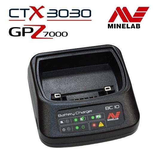 Chargeur pour détecteur de métaux CTX 3030 et GPZ 7000 Minelab