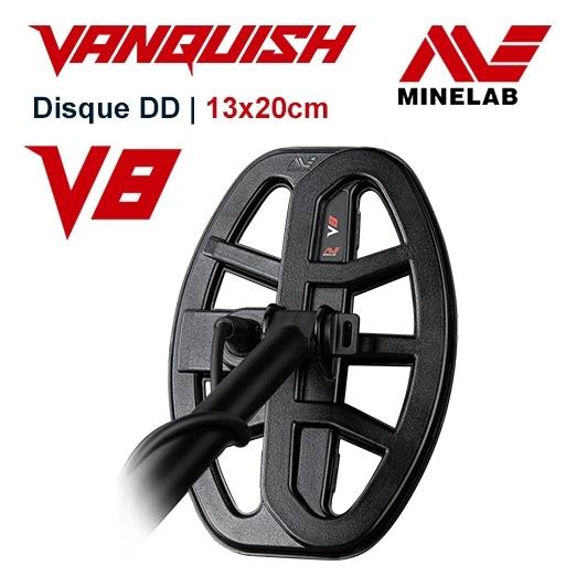 Disque Minelab V8 Vanquish / 13x20 cm DD