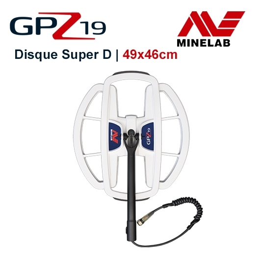 Disque Minelab GPZ 19x49 cm