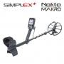 Détecteur Nokta Makro Simplex+ pack Pointer