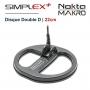 Disque Nokta Makro DD 22cm Simplex