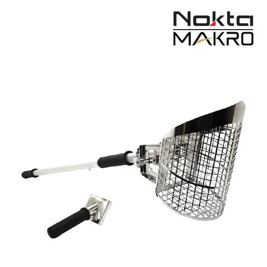 Pelle à tamiser 3 en 1 Nokta Makro avec manche
