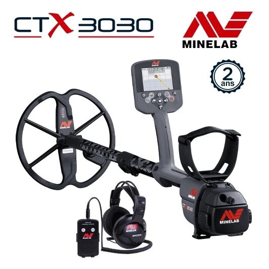 Détecteur Minelab CTX 3030