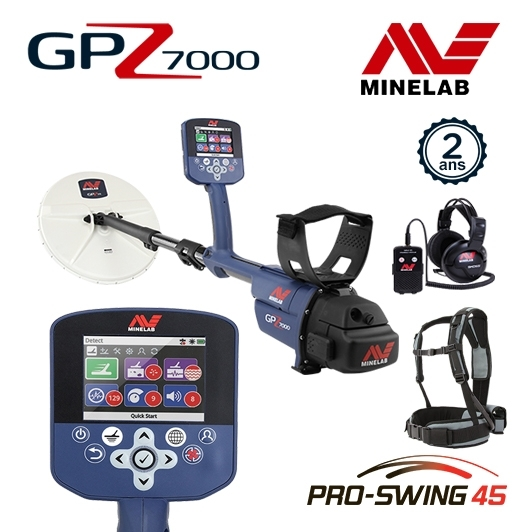 Minelab GPZ 7000