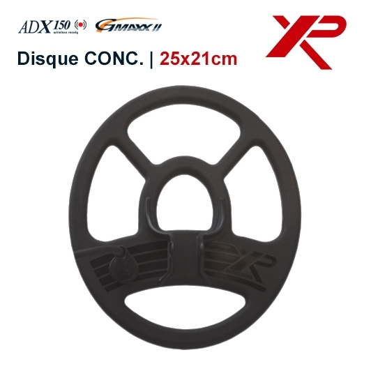 disque concentrique de 4 khz pour détecteur de métaux XP Adx 150 et le GMaxx 2 ainsi que le Adventis