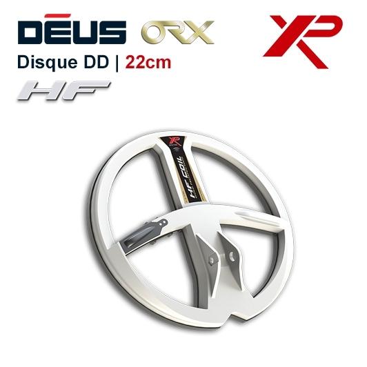 Disque 22,5 cm HF pour detecteur de metaux XP Deus et ORX
