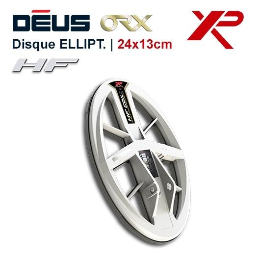 Disque elliptique HF pour detecteur de metaux XP Deus et ORX