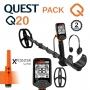 Detecteur de metaux Quest Q20 avec Pack XPointer