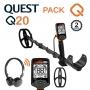 Achetez le detecteur Quest Q20 avec casque sans fil