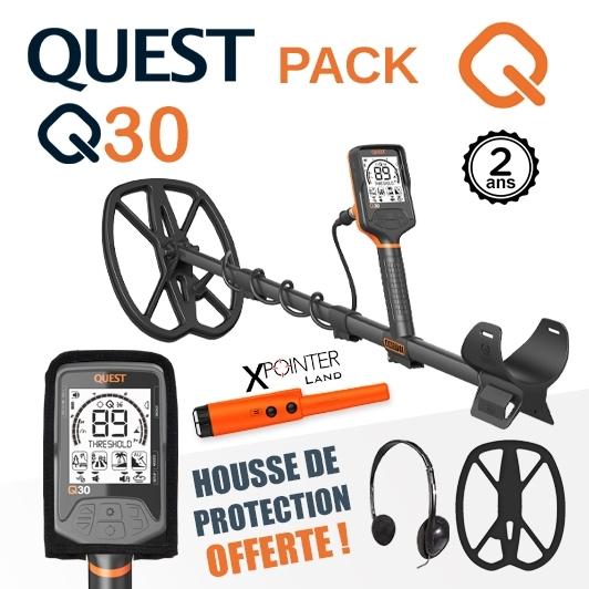 Détecteur Quest Q30 avec housse de protection offerte