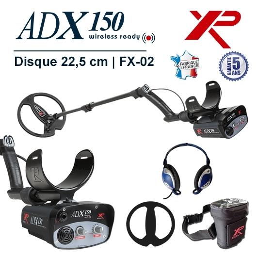 Detecteur de metaux XP Adx 150 avec disque de 22,5 cm