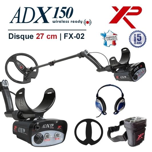 Detecteur de metaux XP Adx 150 avec bobine de recherche de 27 cm