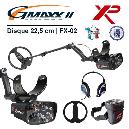 Détecteur de métaux XP GMaxx pour la détection de grosses masses métalliques