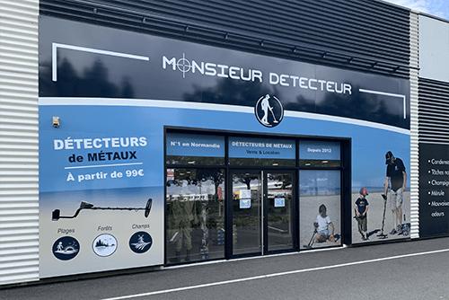 Boutique detecteur de métaux à Caen, près de Rouen